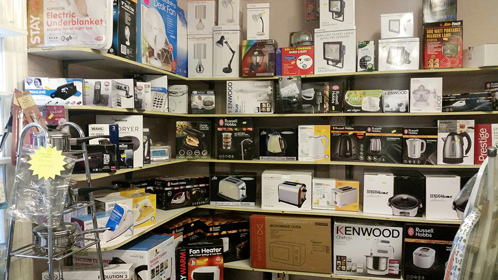 Small Electricals - Hardware Shop Shropshire