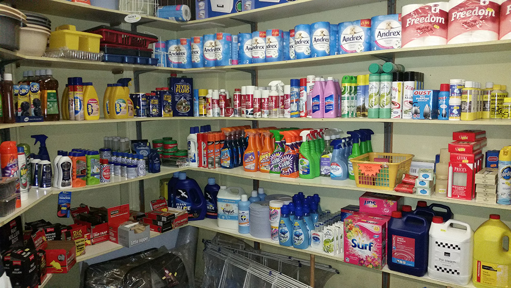 Household Cleaning Products - Hardware Shop Shropshire