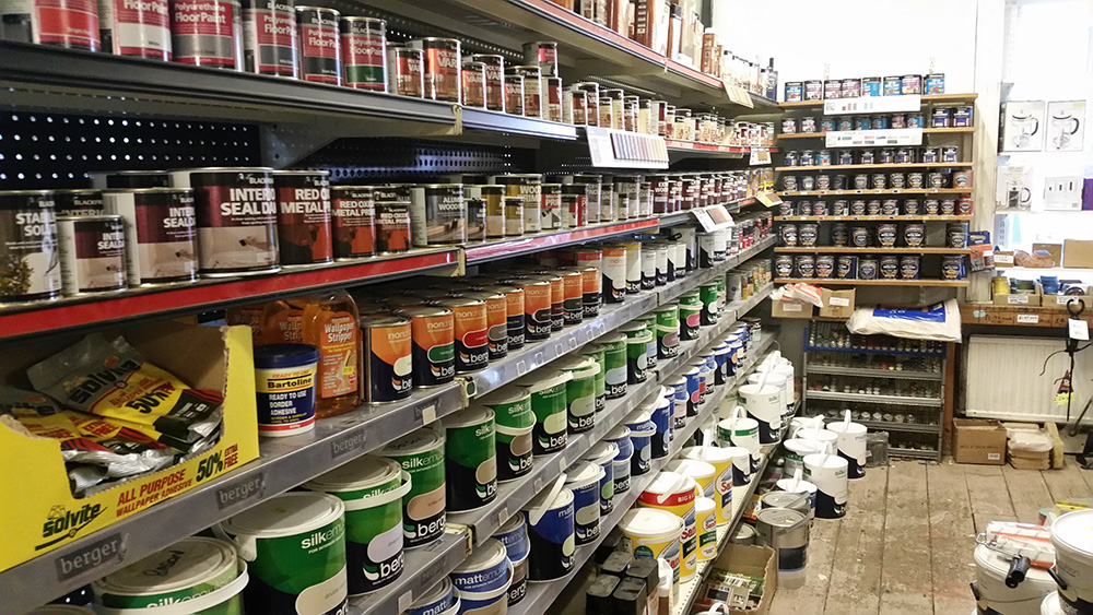 Quality Paint and Varnishes - Hardware Shop Shropshire