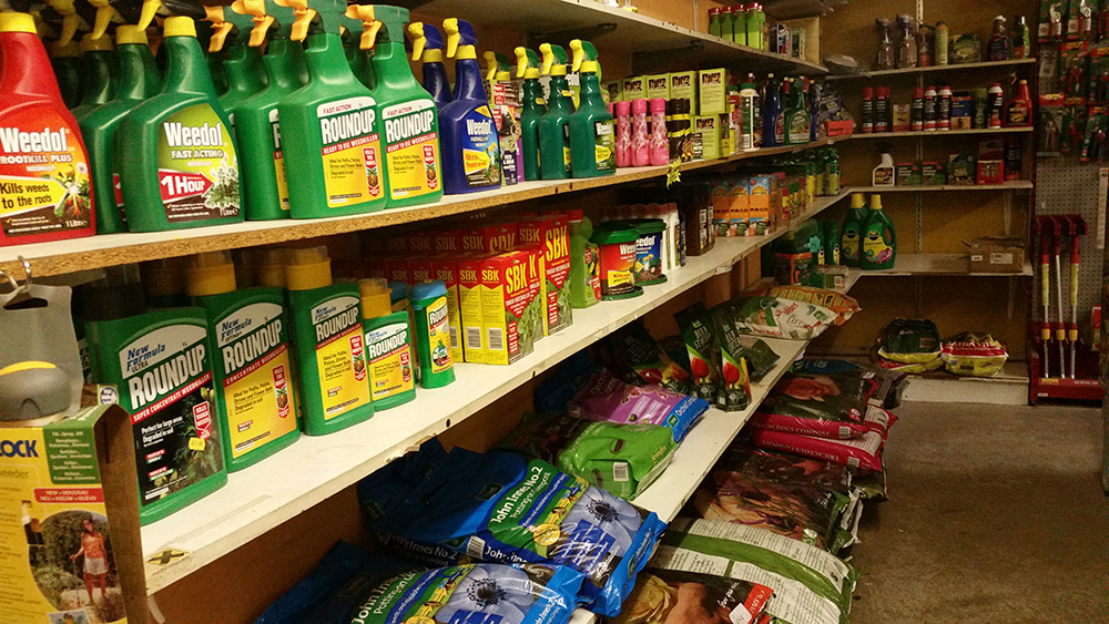 Weedkillers and Fertilisers - Hardware Store