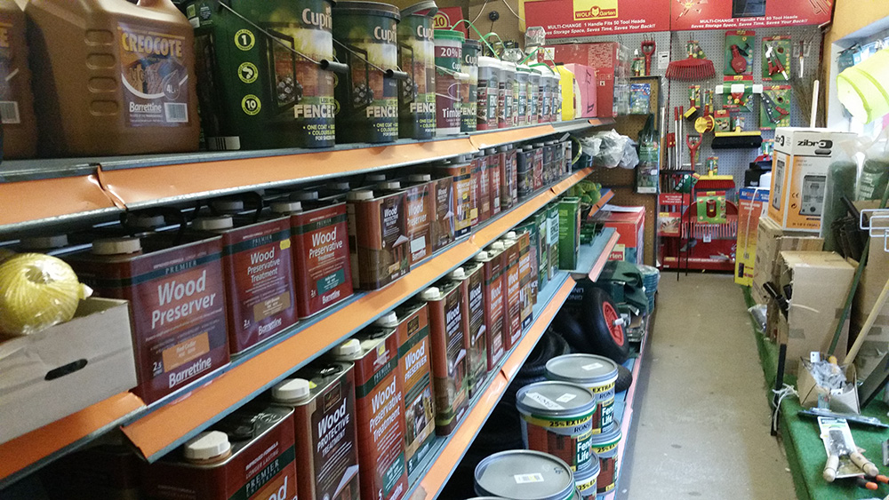 Fence Protection and Treatments - Hardware Shop Shropshire