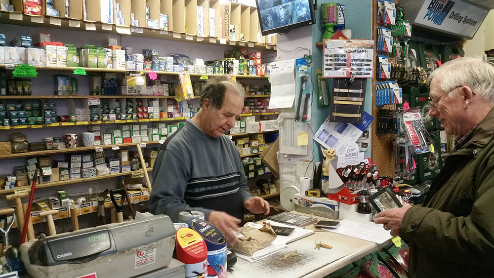 A Friendly Welcome - Hardware Shop Shropshire